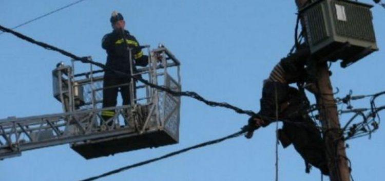 Διακοπή ηλεκτροδότησης σε τοπικές κοινότητες του δήμου Αμυνταίου