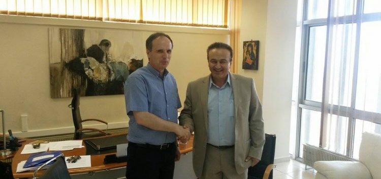 Συνάντηση Αντωνιάδη – Τουρλιδάκη για το τμήμα Βαλκανικών Σπουδών