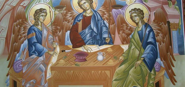 Το Άγιον Πνεύμα στην Ορθόδοξη Εικονογραφία