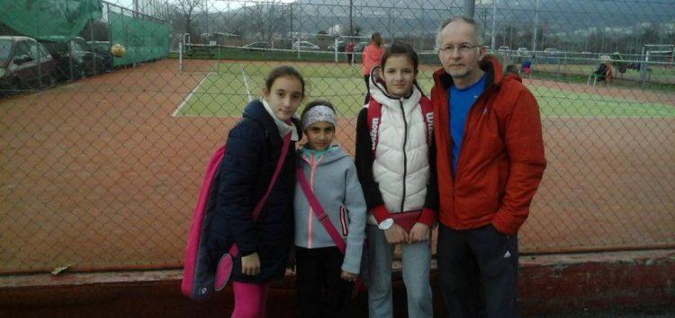 Δυναμική και σταθερή η παρουσία της ομάδας τένις της Λ.Π.Φ. στη Νάουσα