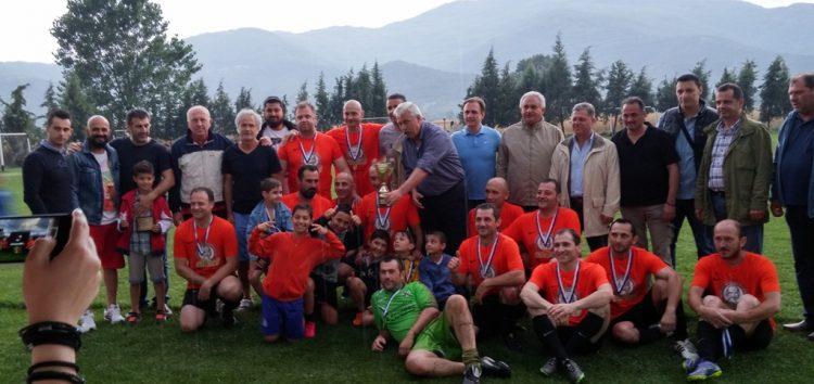 Η Κρυσταλλοπηγή νικήτρια του τουρνουά ποδοσφαίρου της Ένωσης Αστυνομικών Υπαλλήλων