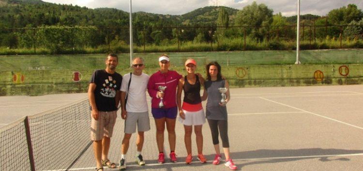 4ο Ενωσιακό Πρωτάθλημα τένις ανδρών – γυναικών στη Φλώρινα
