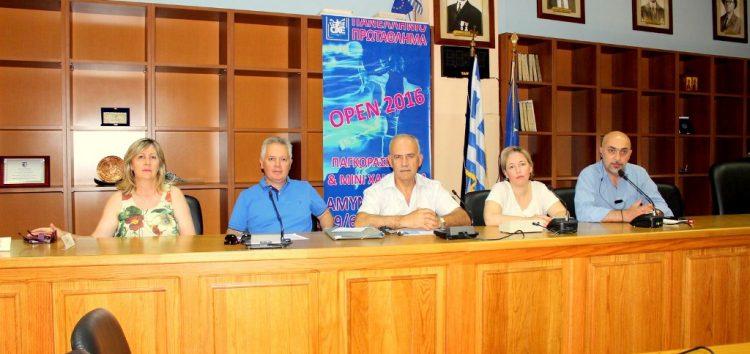 Στο δήμο Αμυνταίου το Πανελλήνιο Πρωτάθλημα OPEN Παγκορασίδων Β' και Μίνι (video)