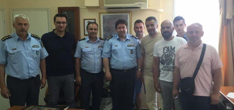 Συνάντηση της Ένωσης Αστυνομικών Υπαλλήλων Φλώρινας με τον Γενικό Επιθεωρητή Αστυνομίας Βορείου Ελλάδος