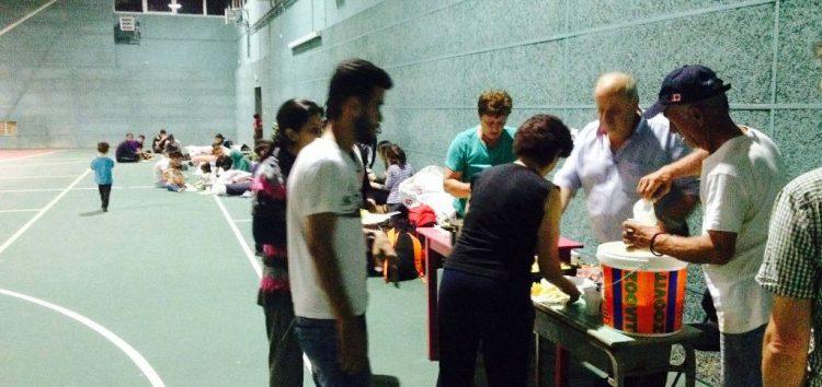 Πρόσφυγες από το Ιράκ και τη Συρία φιλοξενήθηκαν χθες στην Πρέσπα