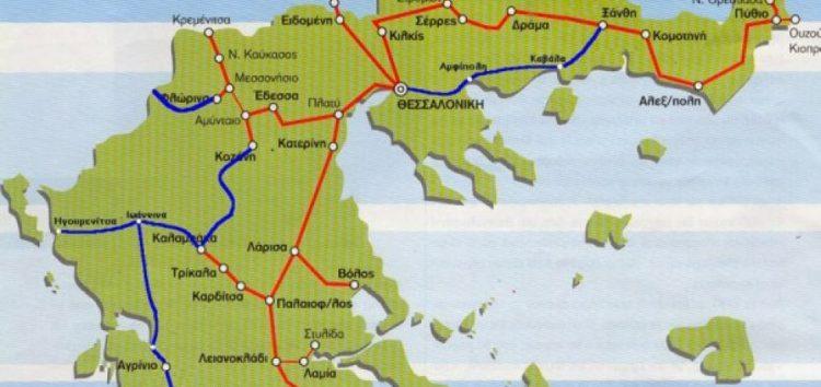 Σιδηροδρομική Εγνατία: από την Κρυσταλλοπηγή ως τον Έβρο!