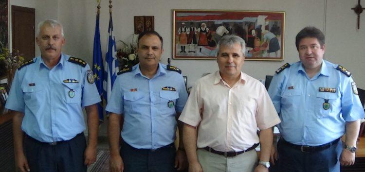 Συνάντηση του Αντιπεριφερειάρχη Φλώρινας με τον Γενικό Επιθεωρητή Αστυνομίας Βορείου Ελλάδος