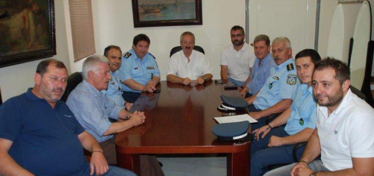 Επίσκεψη του Γενικού Επιθεωρητή Αστυνομίας Βορείου Ελλάδος στο δήμο Φλώρινας