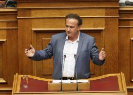 Ομιλία του εισηγητή της Ν.Δ., βουλευτή Φλώρινας, Γιάννη Αντωνιάδη στο νομοσχέδιο για τα Εμπορικά Σήματα (video)