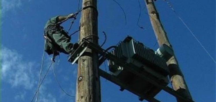 Διακοπή ηλεκτροδότησης σε τοπικές κοινότητες του δήμου Πρεσπών