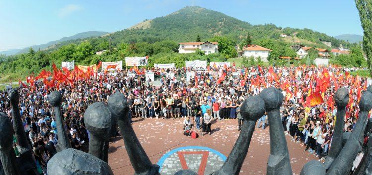 Με εκδήλωση στο μνημείο για τη Μάχη της Φλώρινας ολοκληρώθηκε το διήμερο της ΚΝΕ (pics)