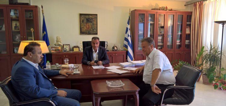 Συνάντηση Αντωνιάδη – Καρυπίδη για την πρόοδο των έργων της Π.Ε. Φλώρινας