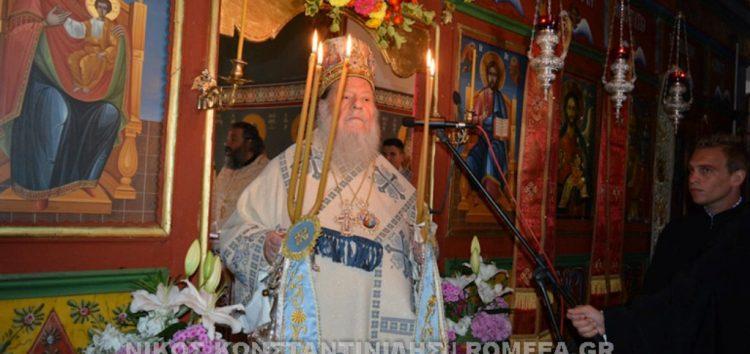 Λαμπρός εορτασμός της Παναγίας στην Κλαδορράχη