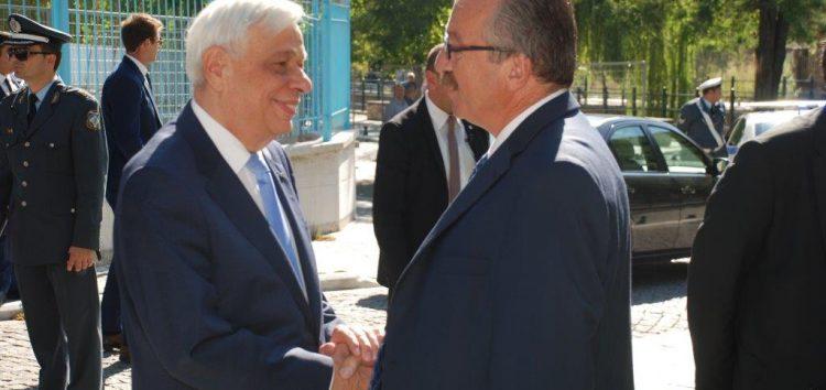 Υποδοχή του Προέδρου της Δημοκρατίας από το δήμαρχο Φλώρινας (pics)