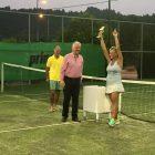 Νικήτρια η Ζιώρδα σε τουρνουά τένις γυναικών – Εξαιρετική εμφάνιση της ομάδας των Σαρισών