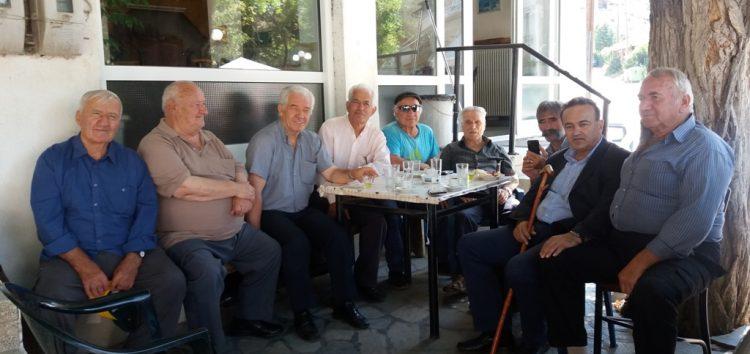 Επισκέψεις Αντωνιάδη σε Αχλάδα, Μελίτη και Άγιο Γερμανό