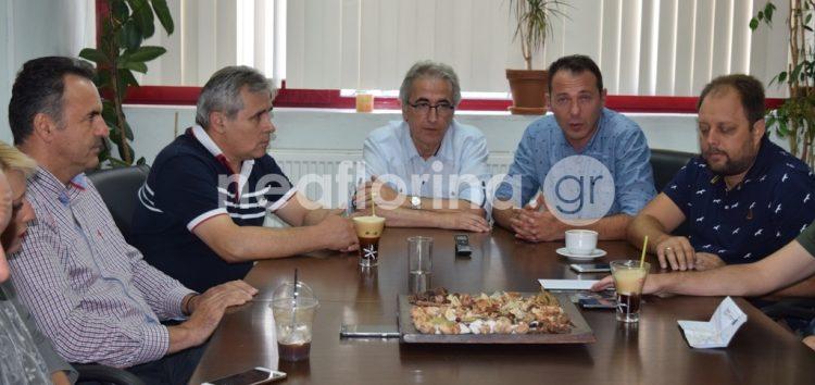 Ο πρόεδρος της ΓΣΕΕ στη Φλώρινα (video, pics)