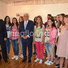 Ο Προκόπης Παυλόπουλος στην έκθεση του γυμνασίου Αμμοχωρίου για το προσφυγικό (video, pics)