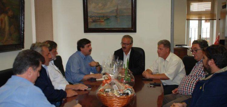 Συνάντηση του δημάρχου Φλώρινας με τον υπουργό Υγείας