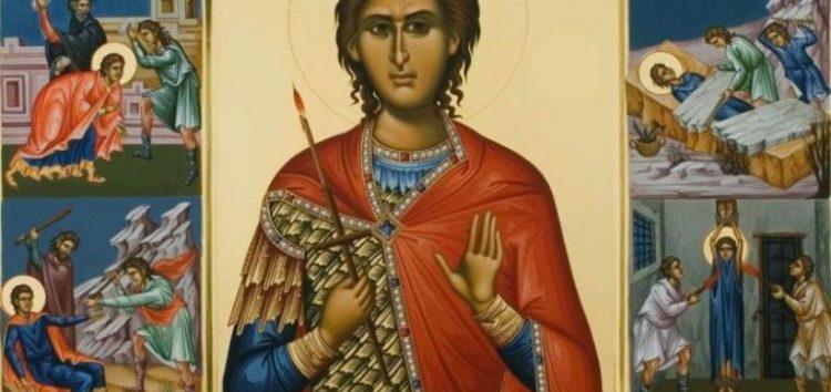 Πανηγυρίζει το παρεκκλήσι του Αγίου Φανουρίου