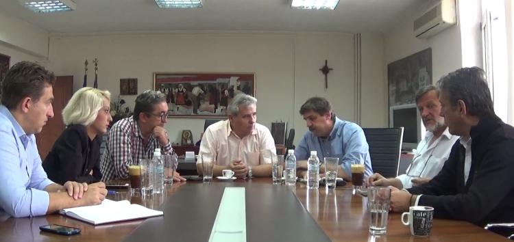 Συνάντηση του αντιπεριφερειάρχη Φλώρινας με τον υπουργό Υγείας (video)