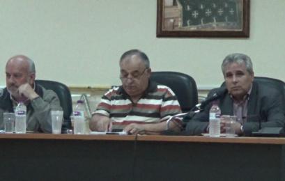 Ο Αντιπεριφερειάρχης Π.Ε. Φλώρινας στη λαϊκή συνέλευση της Τ.Κ. Αετού (video)