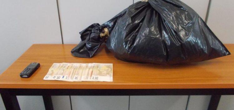 Σύλληψη 46χρονου αλλοδαπού για εισαγωγή και πώληση 1,544 γραμμαρίων ακατέργαστης κάνναβης