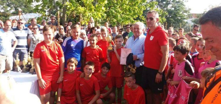 1η θέση, MVP και καλύτερος τερματοφύλακας για το προπαιδικό του ΠΑΣ Φλώρινα