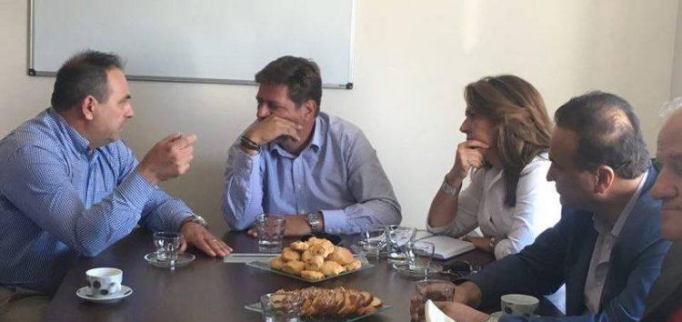 Επίσκεψη κλιμακίου βουλευτών της Νέας Δημοκρατίας στον «Πελεκάνο»