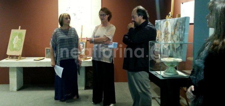 Έκθεση νωπογραφίας στο Αρχαιολογικό Μουσείο Φλώρινας (pics)