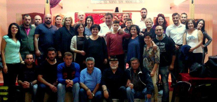 Παρουσιάστηκε με μεγάλη επιτυχία η παράσταση ''Τι χωρί μου 'μουν τα σεϊρια'' στη Λεβαία (video)