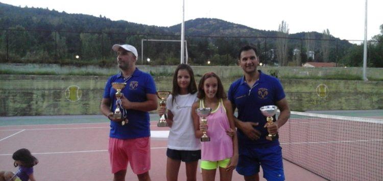 Δυο κύπελλα για την ομάδα τένις της Λέσχης Πολιτισμού Φλώρινας στο 5ο τουρνουά που συνδιοργάνωσε με το δήμο Φλώρινας
