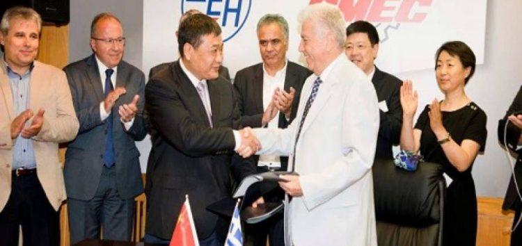 Έπεσαν υπογραφές της ΔΕΗ με την Κινεζική CMEC για νέα λιγνιτική μονάδα στη Μελίτη