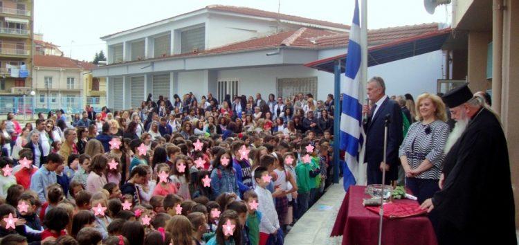 Τελετή Αγιασμού στο 1ο και 2ο Δημοτικό Σχολείο Φλώρινας για το νέο σχολικό έτος