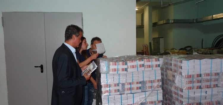 Σαράντα χιλιάδες τετράδια για τους μαθητές της Δυτικής Μακεδονίας