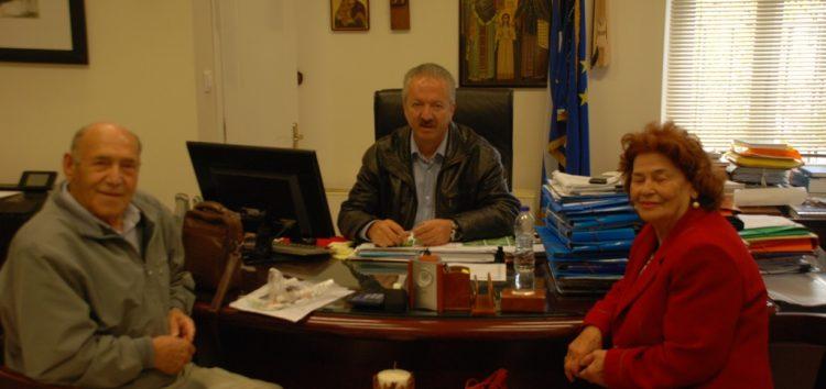 Συνάντηση του δημάρχου Φλώρινας με τον πρόεδρο του ΚΑΠΗ