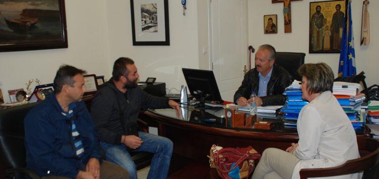 Συνάντηση του δημάρχου Φλώρινας με το σύλλογο γονέων και κηδεμόνων Ιτιάς