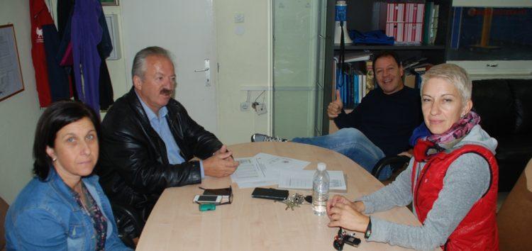 Συνάντηση του δημάρχου Φλώρινας με εκπροσώπους της ΓΕΦ και του ΟΞΙΦ