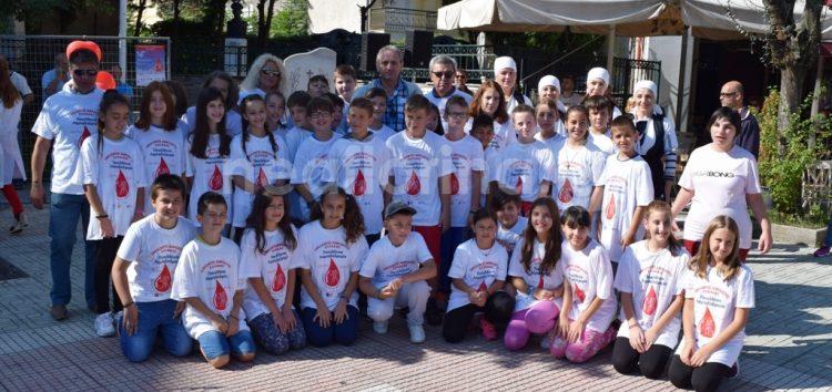 Από τη Φλώρινα πέρασε η Πανελλήνια Λαμπαδηδρομία Εθελοντικής Αιμοδοσίας (video, pics)