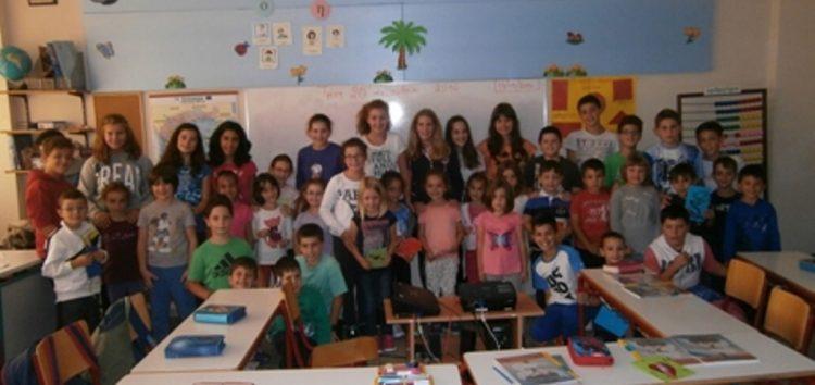 Εκτάκια υιοθετούν πρωτάκια στο Πειραματικό Δημοτικό Σχολείο Φλώρινας