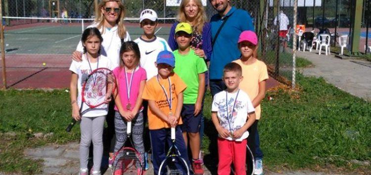 Η Λέσχη Πολιτισμού στο 8ο Προπαιδικό Πρωτάθλημα Τένις