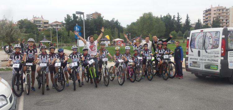 Συμμετοχή του ΑΟΦ σε ποδηλατικό αγώνα μικρών κατηγοριών
