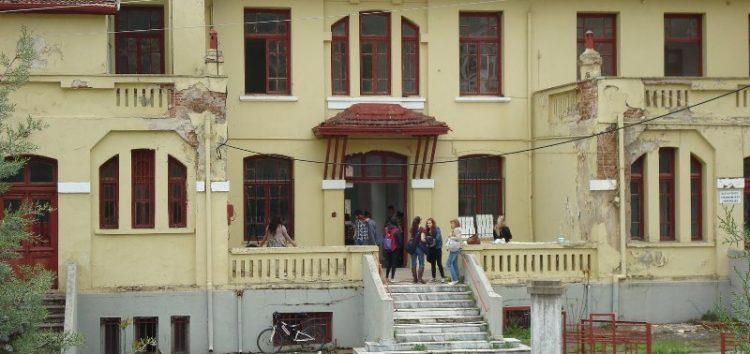 Υποδοχή πρωτοετών στον υπό ανακαίνιση χώρο της Αγίας Όλγας