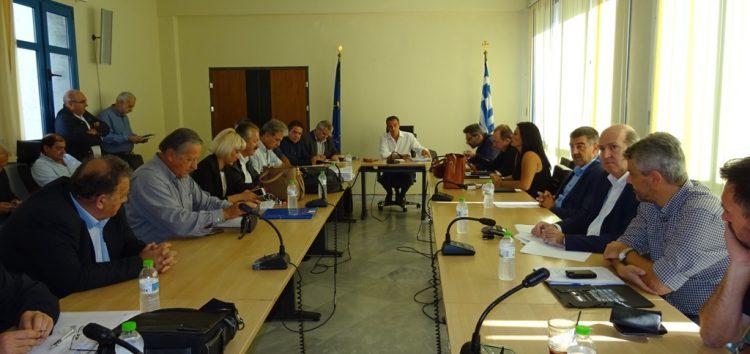 Συνεδρίασε η Ομάδα Συντονισμού για θέματα ανάπτυξης, απασχόλησης, κοινωνικής συνοχής και θεσμικής υποστήριξης της Περιφέρειας