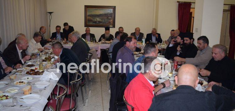 Αποχαιρετιστήριο δείπνο του επιπυραγού Χρήστου Σπυρίδη (pics)