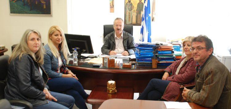Συνάντηση του δημάρχου Φλώρινας με το Σύλλογο γονέων και κηδεμόνων Σιταριάς