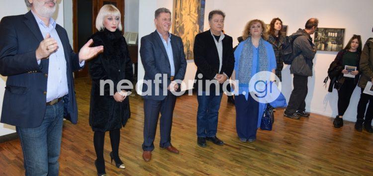 Εγκαινιάστηκε η έκθεση ζωγραφικής «Εσωτερικά» του Σωτήρη Λιούκρα (video, pics)