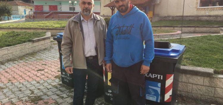 Πρόγραμμα ανακύκλωσης με «χρωματιστές σακούλες» σε Μανιάκι και Φαράγγι