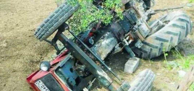Νεκρός 49χρονος που καταπλακώθηκε από τρακτέρ