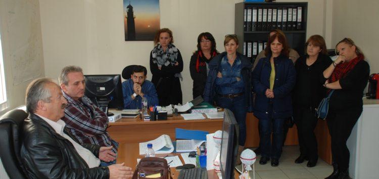 Συνάντηση του δημάρχου Φλώρινας με το προσωπικό της Κοινωφελούς Επιχείρησης